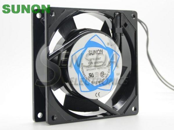 Sunon SF9225AT 2092HSL 9025 9225 9cm 90mm AC 110V server case cooling fan