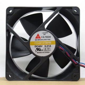 Y.S.TECH FD481238HB 3line 0.21A 48V cooling fan