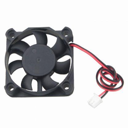 Gdstime 2PCS 50x50x10mm DC 5V 50mm x 10mm 2Pin Mini Cooler Radiator Motor Fan 5cm Cooling Fan 5010