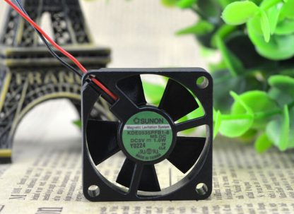 Wholesale: original SUNON 35*35*10 3.5CM 5V 1.0W KDE0535PFB1-8 2 wire cooling fan