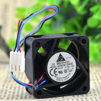 Wholesale: genuine 12V 0.18A EFB0412VHD Delta 40*40* 1U server fan switch
