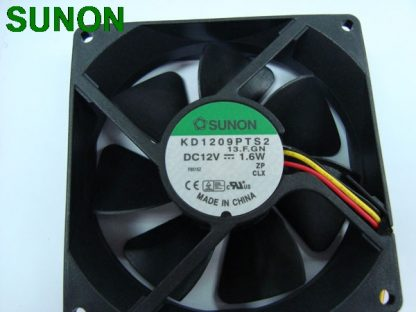 SUNON KD1209PTS2 9225 9CM 9.2*9.2 92 *92 25MM 12V 1.7W 3wire Server Inverter PC Case Cooling Fan