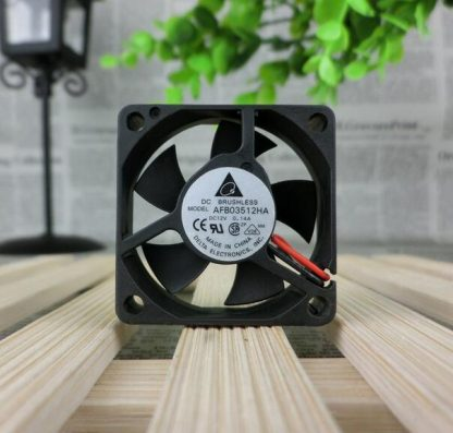 Wholesale: Delta 3510 3.5CM DC 12V 0.14A AFB03512HA 2-wire double ball bearing large air fan