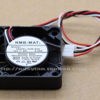 NMB 1608KL-05W-B10 40 24V 0.06A 4cm Double ball bearing cooling fan 40X40XMM