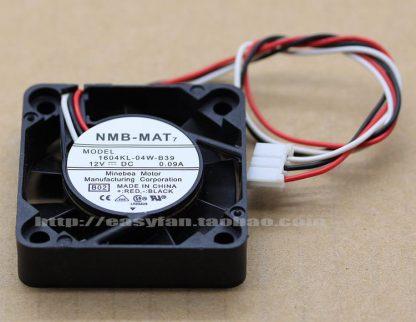 NMB-MAT 1604KL-04W-B39 B02 DC 12V 0.09A 40x40x10mm Server Square fan