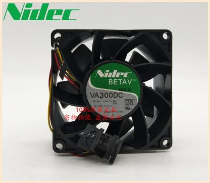 Nidec Cooling fan VA300DC V35072-58 8cm 80*80*38mm 8038 12v 1.1A server fan