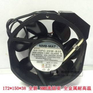 NEW NMB-MAT Minebea 5915PC-20W-B20 200V~240v 172*150*38 cooling fan