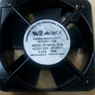 15050 sanxie axial flow fan fp-108ex-s1-s ac220v 240v 0.22a 38w cooling fan