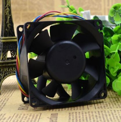 Nidec BETAV VA300DC V35072-35 DC 12V 0.9A 8cm 80*80*38mm 4 Wire For IBM Chassis Cooling Fan