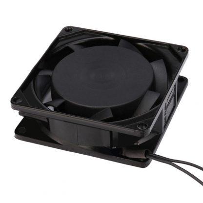 V 240V 8cm 80mm x 80mm x 25mm AC Metal Brushless Cooling Industrial Fan JUL14 Dropship
