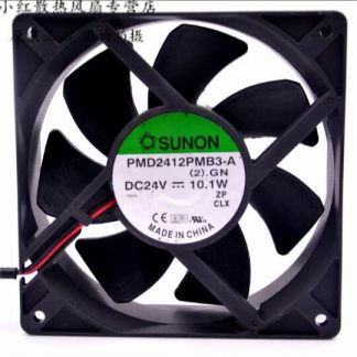 SUNON KDE2412PMBX-6A DC24V 7.2W Server Square Fan 2-wire 1x1x38mm