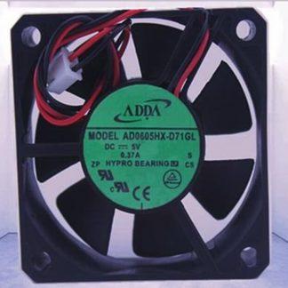For ADDA AD0605LX-D90 60*60*15mm DC5V 0.21A Server Hard disk VCR fan