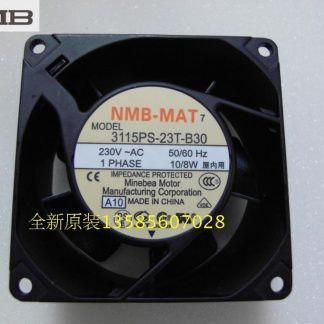 Original NMB Blowers 3115PS-23T-B30 8038 2V axial fans