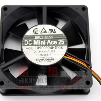 9025 DC: 24V 0.12A inverter cooling fan 109P0924H4D08