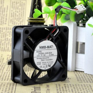 Wholesale: genuine NMB-MAT 2408NL-04W-B29 12V 0.09A 60*60* 6CM 3 line fan