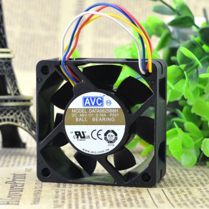 Free Delivery. DATA0625B8H 48 v 0.16 A four-wire 6 cm fan