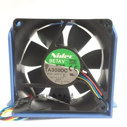 Original Nidec 8cm 8025 12V 0.25A M35613-35 80 * 80 * 25MM server dedicated fan