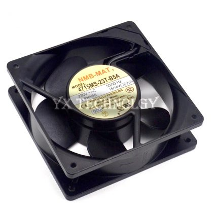 Free Shipping New Original NMB 4715MS-23T-B5A 12CM 120mm 12038 230V AC case industrial cooling fans