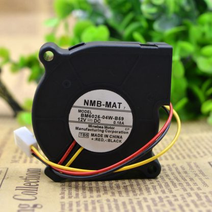 New NMB 6025 DC12V 0.24A 0.18a BM6025-04W-B59 Projector Turbo Fan