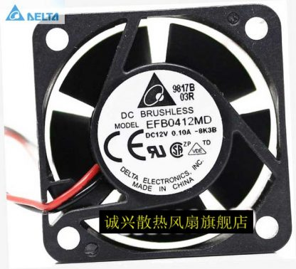Wholesale DELTA EFB0412MD 4cm 40 North/South bridge cooling silent quiet dual ball bearing fan