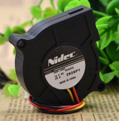 Original Nidec D05F-12BH 12V 0.25A three line centrifugal turbo fan