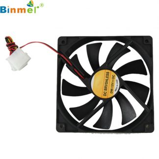 Computer Cooler Case 12V 12CM 1MM PC CPU Cooling Cooler Fan 0418 drop shipping