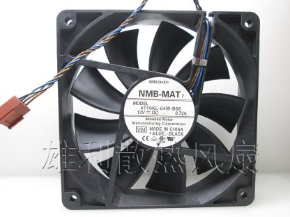 Free Delivery. Original 12cm 0.72A four-wire temperature-controlled PWM fan 12025 4710KL-04W-B56