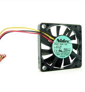 Wholesale: NIDEC D05X-12TL 50*50*10 12V 0.05A hole distance 4.2CM silent CPU fan