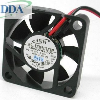 ADDA AD0424HS-G70 40mm 4CM 4010 24V 5700RPM ball bearing small axial DC brushless cooling fan