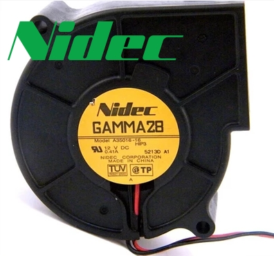 nidec Original GAMMA28 A35016-16 12V 0.41A 7530 centrifugal fan turbofan 75*75*30MM