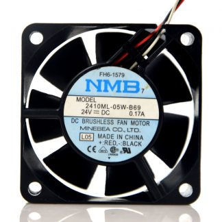 New original 2410ML-05W-B69 6025 24V 0.17A inverter cooling ball fan