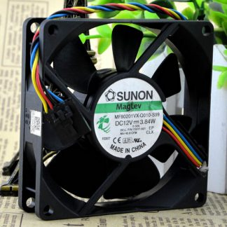 Wholesale: SUNON MF801VX-Q010-S99 80*80* 12V genuine 3.84W 4 line fan