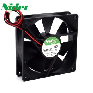 Nidec orginal 90*90*25mm 2-wire TA350DC M34261-16 9025 24V 0.28A double ball inverter welding machine cooling fan