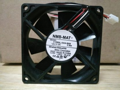 New NMB 8CM 80 12V 0.36A 3108NL-04W-B50 80 * 80 * MM Second-line chassis cooling fan
