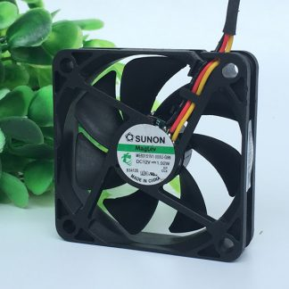 Original SUNON 6015 6CM 12V 1.92W ME60151V1-000U-G99 3-wire cooling fan