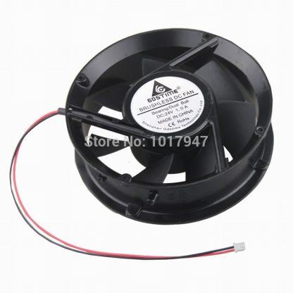 1Pieces Gdstime DC 24V 17CM 170MM 172x51mm Ball Industrial Ventilation Cooling Fan
