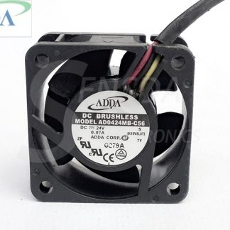 Wholesale ADDA 4020 AD0424MB-C56 40mm 4cm DC 24V 0.07A 3Wire server inverter axial cooler blower Cooling Fans