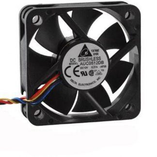 Delta AUC0512DB 5015 50x50x15mm 5cm DC 12V 0.27A 4 Lines Server Inverter Cooling Fan