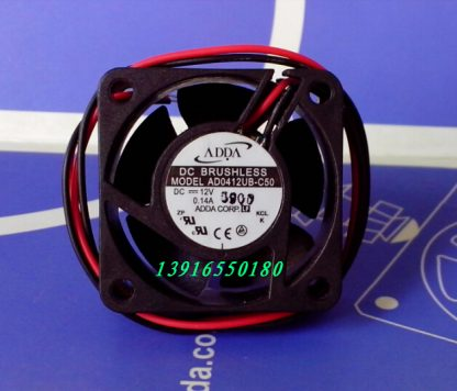 Wholesale: original authentic ADDA AD0412UB-C50 40*40* DC12V 0.14A quiet fan