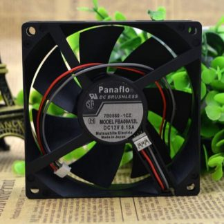 Wholesale: FBA09A12L 9025 0.15A 12V three wire speed fan chassis fan