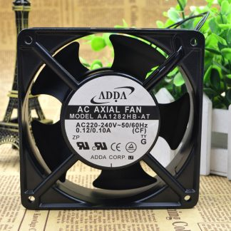 New ADDA AA1282HB-AT AC 220-230V 50/60Hz 0.12/0.10A 12cm 120x120x38mm Server Square cooling fan
