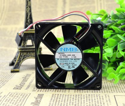 The original MNB 3108NL-04W-B39 12V 0.19A 8CM 80*80* 3 line cooling fan