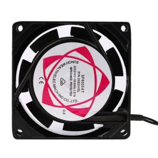 High Quality 2V 240V 8cm 80mm x 80mm x 25mm AC Metal Brushless Cooling Industrial Fan Dec11