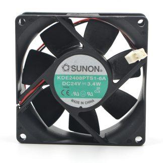 New original 8025 KDE2408PTS1-6A 8CM 24V 3.4W inverter cooling fan