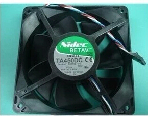 TA4500DC Nidec Y4574 B35502-35 E5 genuine 1*1*38mm fan