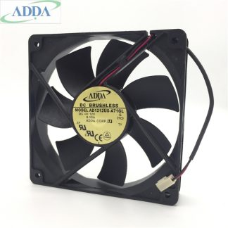 ADDA AD1212US-A71GL DC12V 0.50A  2-wire cooling fan