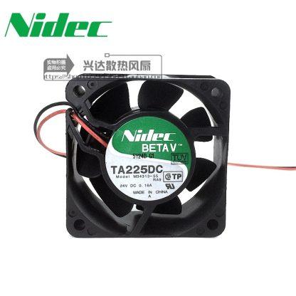 Nidec New fan TA225DC M34313-55 6CM 24V 0.16A 6025 wind inverter fan
