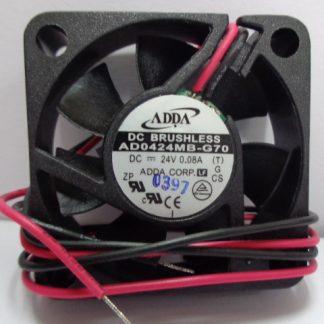 New Original ADDA AD0424MB-G70 4CM 40*40*10MM DC24V 0.08A Inverter cooling fan
