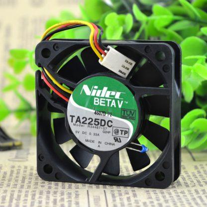 Original genuine NIDEC TA2250C R34487-57 6015 DC5V 0.31A 6cm 3 wire cooling fan