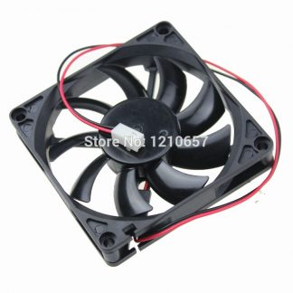 200 Pieces LOT Gdstime 80mm 80x80x15mm 8cm DC 12V 2Pin Connector Brushless Cooling Fan